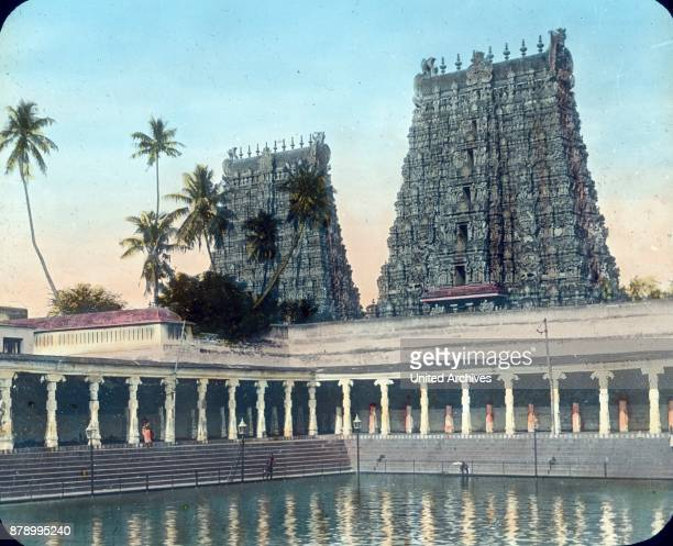 The Meenakshi temple is a Hindu temple in the city of Madurai