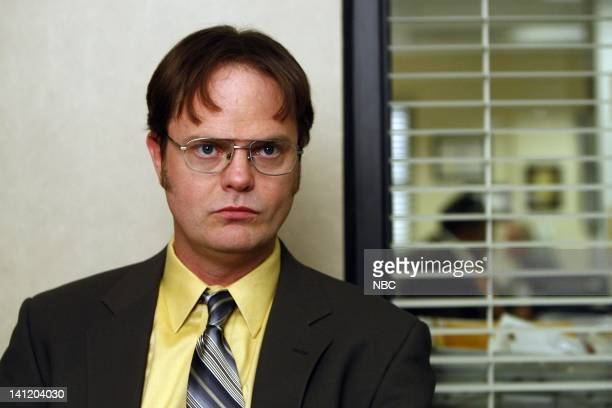 """The Meeting"""" Episode 602 -- Pictured: Rainn Wilson as Dwight Schrute -- Photo by: Trae Patton/NBC/NBCU Photo Bank"""