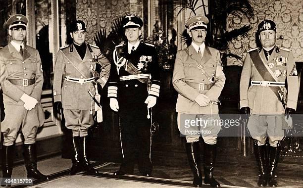 1937 ET 1938 : MUSSOLINI EN ALLEMAGNE, HITLER EN ITALIE