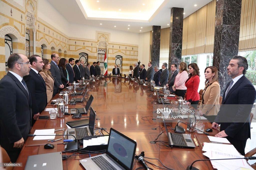Lebanese President Michel Aoun : News Photo