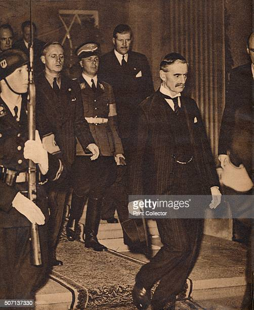 The meeting of Neville Chamberlain with Hitler in Berchtesgaden on September 15 1938 The Berchtesgaden meeting was one of the stages of direct...