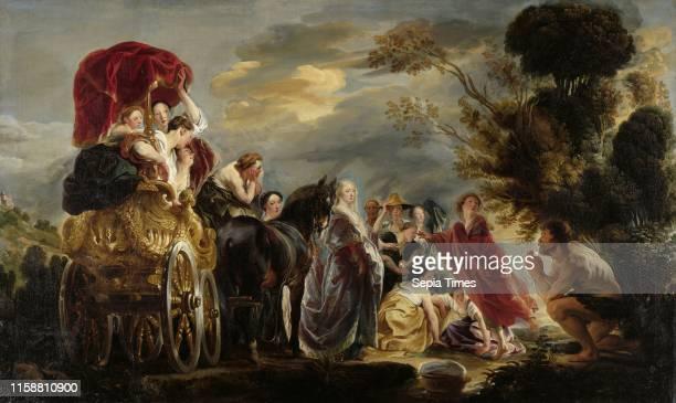 The Meeting of Odysseus and Nausicaa Jacob Jordaens I c 1630 c 1640