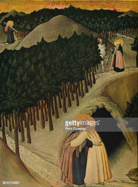 'The Meeting of Saint Anthony and Saint Paul' c14301435 The painting is part of the Kress Collection National Gallery of Art Washington DC From...