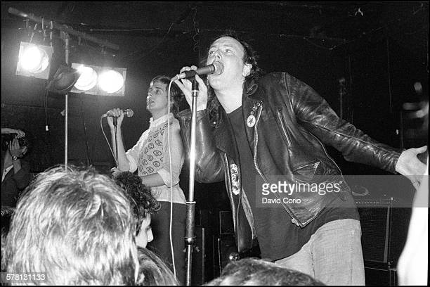 The Mekons performing at The Marquee London UK in 1979
