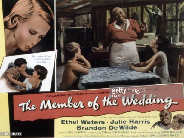 The Member Of The Wedding poster Julie Harris Ethel Waters Brandon de Wilde 1952