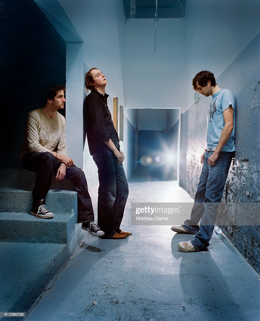 The members of Keane are, L-R, Rich Hughes, Tom Chaplin, and Tim Rice-Oxley.