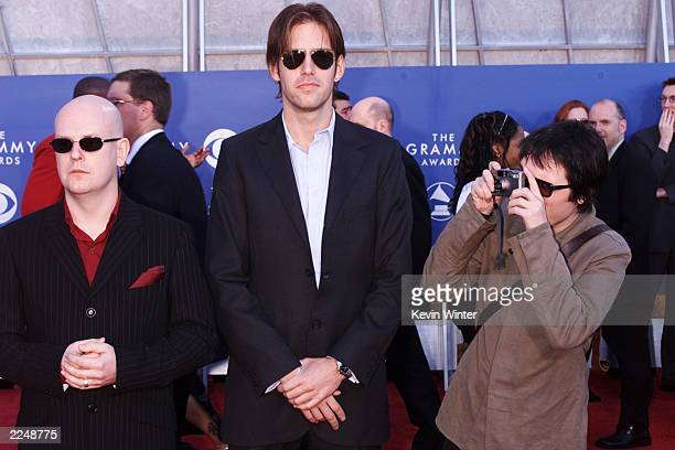 The members of Radiohead arrive at the 43rd Annual Grammy Awards at Staples Center in Los Angeles CA on February 21 2001 Photo credit Kevin...