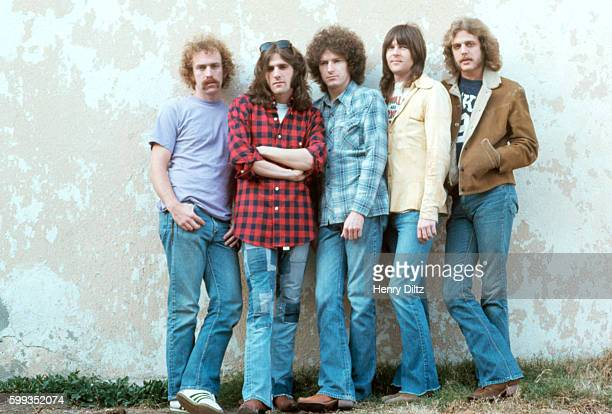 The members of The Eagles stand against a wall The Eagles were the most popular band of the seventies and their reunion tour in the nineties was also...