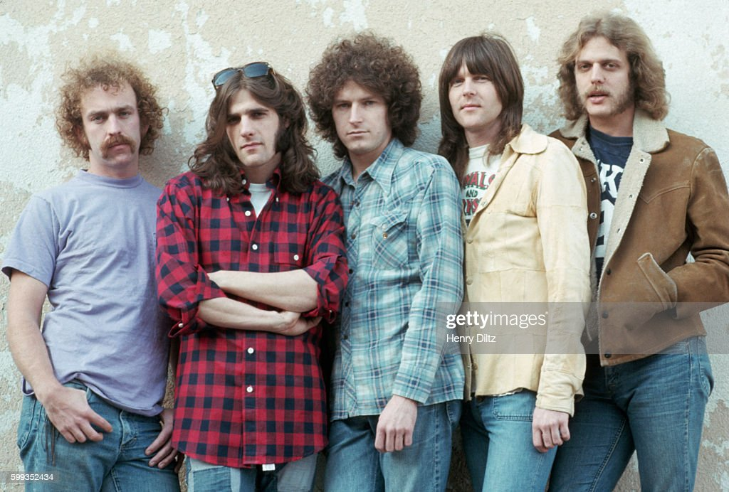 the members of the eagles stand against a wall the eagles were the news photo getty images. Black Bedroom Furniture Sets. Home Design Ideas