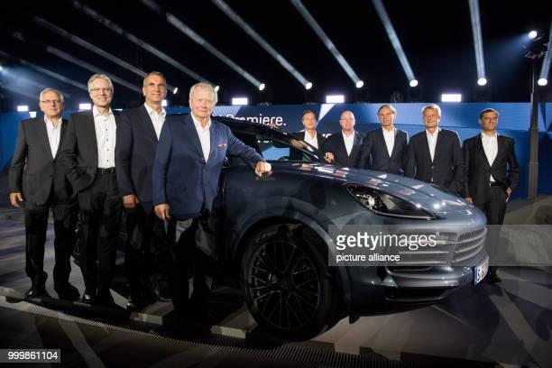 The members of the executive board of Porsche UweKarsten Staedter Andreas Haffner Albrecht Reimold Wolfgang Porsche Lutz Meschke Uwe Hueck Oliver...