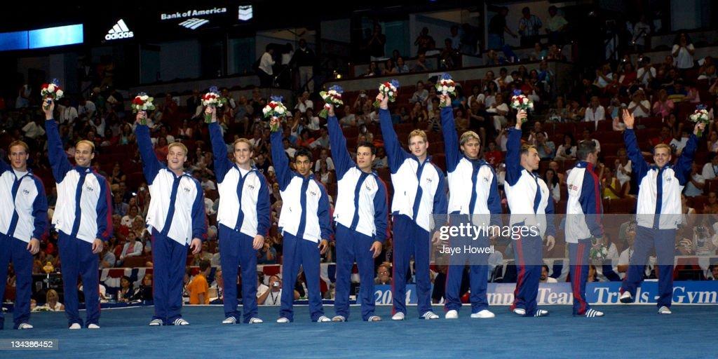 2004 USA Gymnastics Olympic Trials - Mens Finals - June 25, 2004
