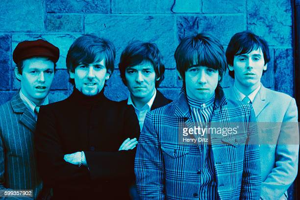 The members of the Hollies are Bernie Calvert Graham Nash Allan Clarke Tony Hicks and Bobby Elliot