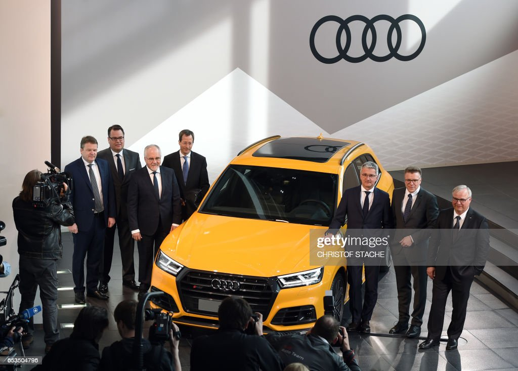 Audi Announces Financial Results In Ingolstadt Photos And Images - Audi car maker