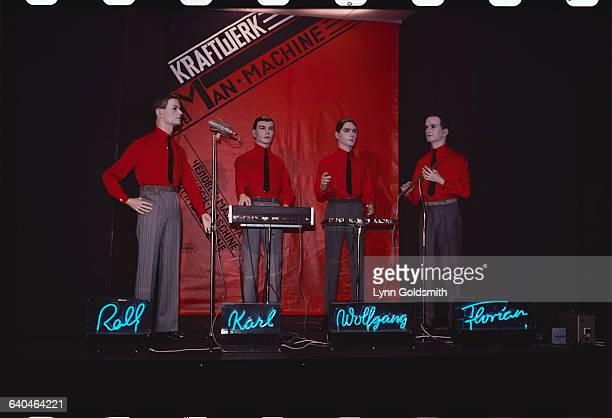 The members of the musical group 'Kraftwerk'