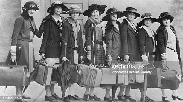 The members of the Philo Browning Society at Hamline University. St. Paul, Minnesota, April 26th, 1923.
