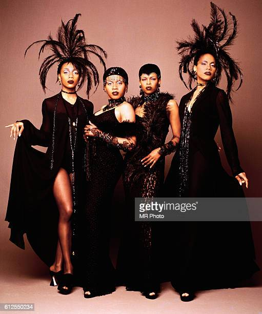 The members of the popular music group En Vogue Terry Ellis Maxine Jones Dawn Robinson Cindy Herron