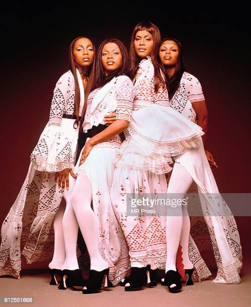 The members of the popular music group En Vogue Terry Ellis Maxine Jones Cindy Herron Dawn Robinson