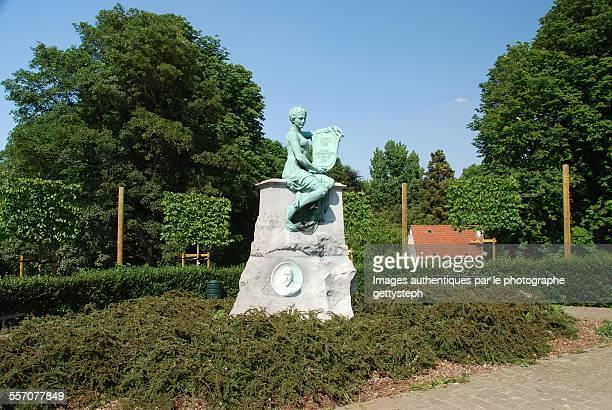The memorial in Josaphat park