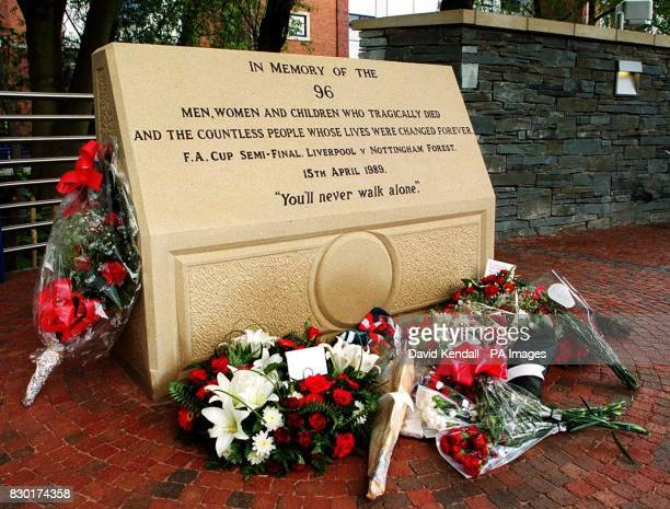 The memorial to the 96 soccer fans who died at Hillsborough has finally been unveiled at the Sheffield Wednesday's stadium. After 10 years of...