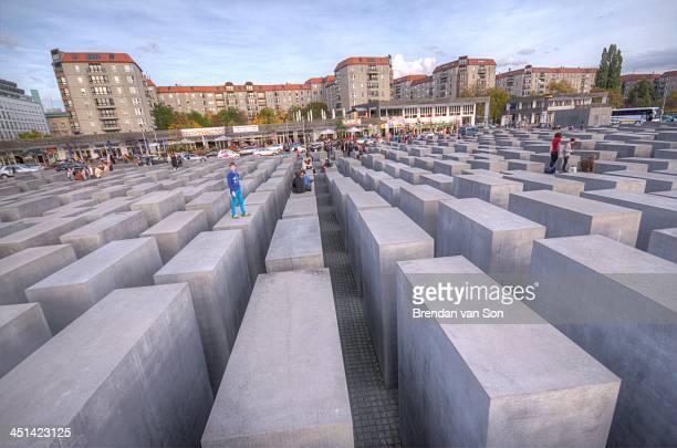 CONTENT] The Memorial to the Murdered Jews of Europe in Berlin Germany