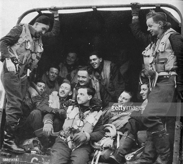 The men and the aircraft circa 1940 Members of the RAF relaxing during World War II From Coastal Command