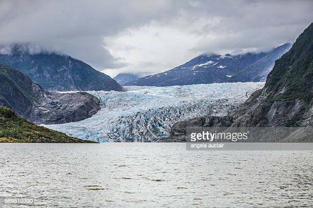 The Mendenhall Glacier in Juneau, Alaska