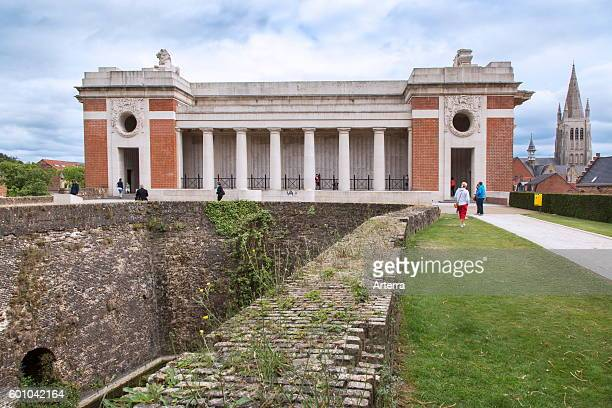 The Menin Gate Memorial to the Missing a war memorial dedicated to the commemoration of British and Commonwealth soldiers who were killed in the...
