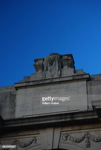 The Menin Gate Memorial to the Missing is a war memorial in Ypres , Belgium dedicated to the British and Commonwealth soldiers who were killed in the...