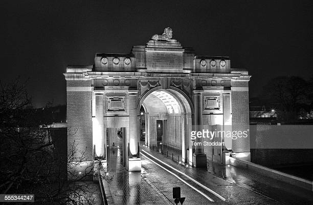 Menin gate stock photos and pictures getty images the menin gate memorial to the missing is one of four british and commonwealth memorials to freerunsca Image collections