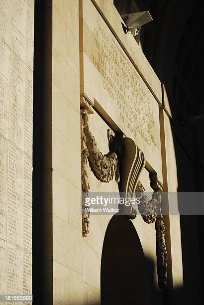 CONTENT] The Menin Gate Memorial to the missing of First World War WW1 World War One Great War lists the names of British and Commonwealth soldiers...