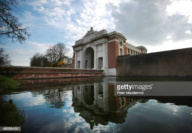 The Menin Gate Memorial to the Missing on March 26 2014 in Ypres Belgium A number of events will be held this year to commemorate the centenary of...