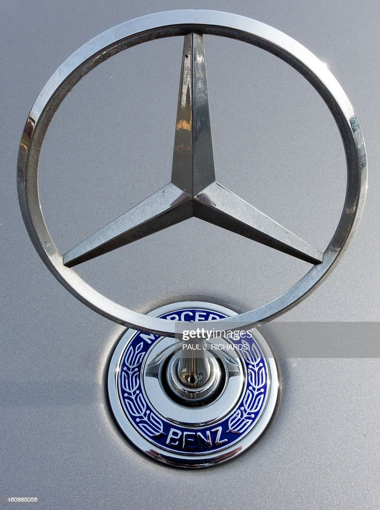 The Mercedes Benz Logo Is Seen On A Parking Lot In Sterling