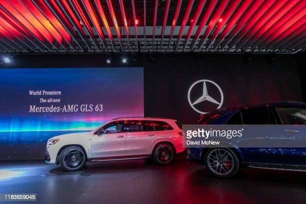 The Mercedes-AMG GLS 63 and Mercedes-AMG GLE 63S world debut at AutoMobility LA on November 20, 2019 in Los Angeles, California. The four-day press...