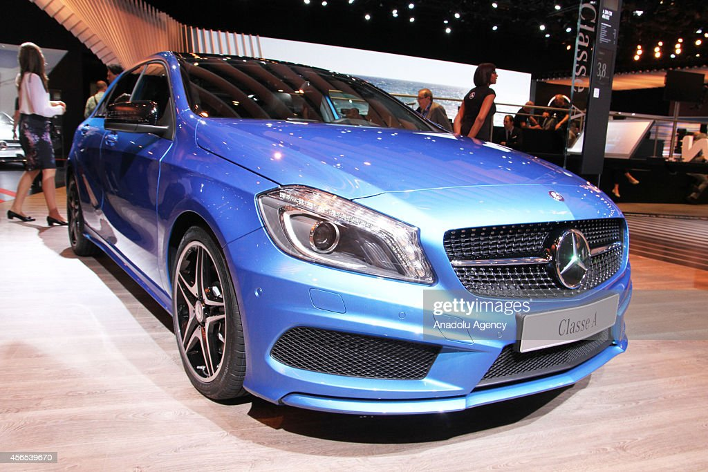 The Mercedes-Benz A Class by German automaker Mercedes-Benz is... News Photo - Getty Images