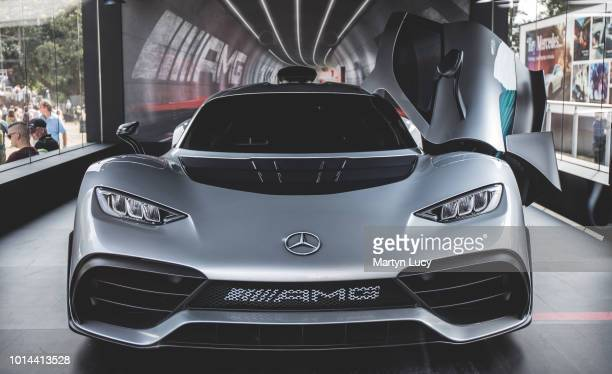 The MercedesBenz AMG Project one on display at Goodwood Festival of Speed 2018 It was first unveiled at the 2017 Frankfurt Motor show and is due to...