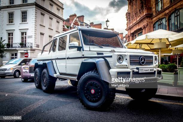 The MercedesBenz G 63 AMG 6X6 This is the largest and most extreme road legal SUV to ever hail from Mercedes' road car operations Just over 100 units...