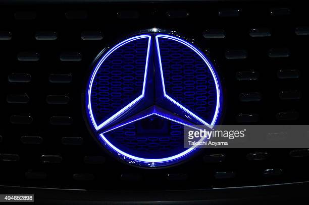Symbol of mercedes benz stock photos and pictures getty for Mercedes benz stock symbol