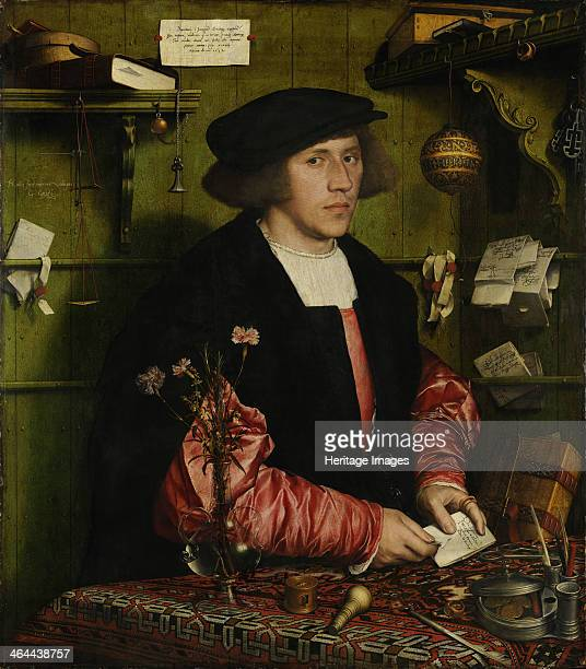 The Merchant Georg Gisze, 1532. Found in the collection of the Staatliche Museen, Berlin.