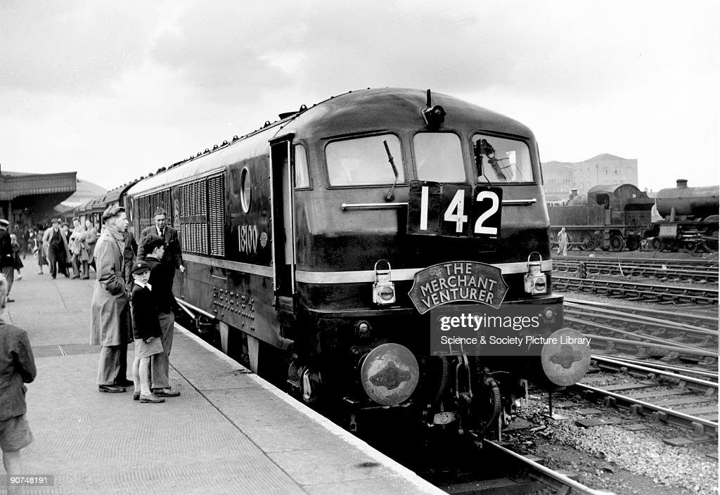 Merchant Venturer, Metro-Vic Locomotive No 18100, 31 May 1952. : News Photo