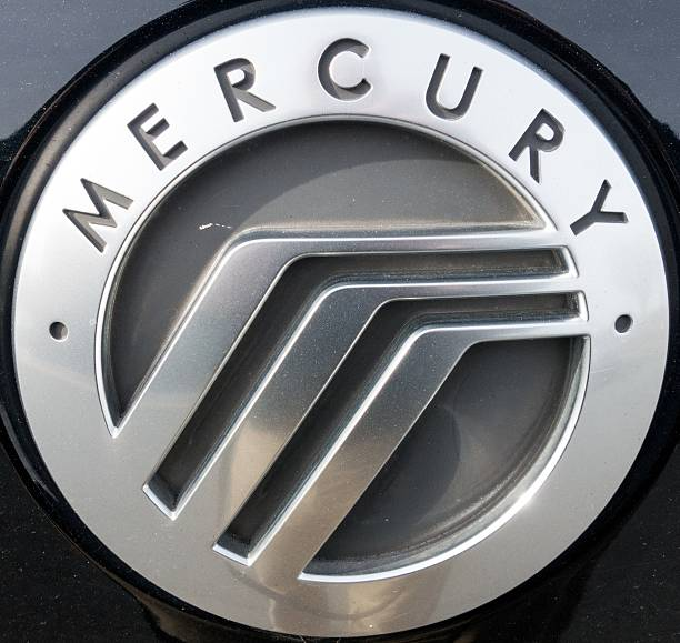The Mercury Logo Is Seen On A Parking Lot In Sterling Virginia On