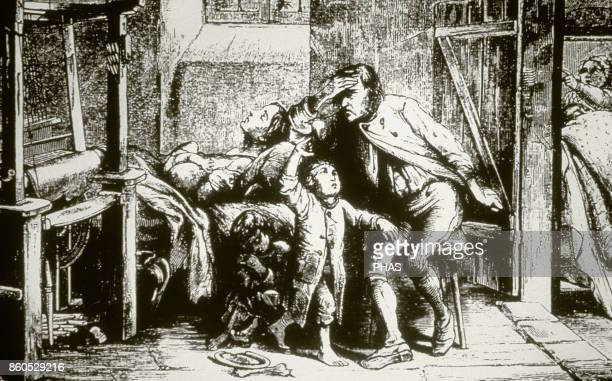 The mercy of the weavers of Silesia Engraving 1850 The Germany of the Unification Years before the revolutions of 1848 were social tensions the best...
