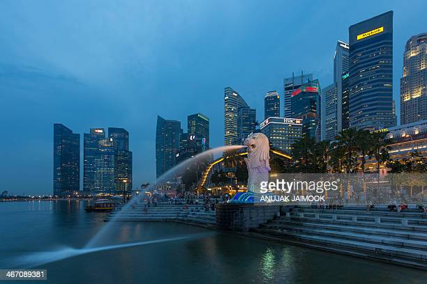 SingaLaut is a mythical creature with the head of a lion and the body of a fish used as a mascot and national personification of Singapore Its name...