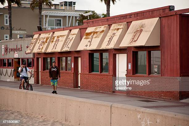 the mermaid - hermosa beach stock pictures, royalty-free photos & images