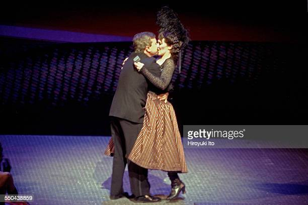 'The Merry Widow' a special New Year Eve gala performance at the Metropolitan Opera House on December 31 2003This imageThe tenor Tony Stevenson...