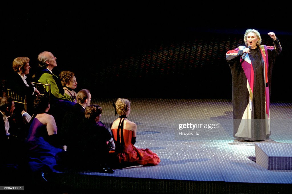 'The Merry Widow,' a special New Year Eve gala performance, at the Metropolitan Opera House on December 31, 2003.This image:Barbara Cook interpolating a medley of pop standards during her Metropolitan Opera debut.