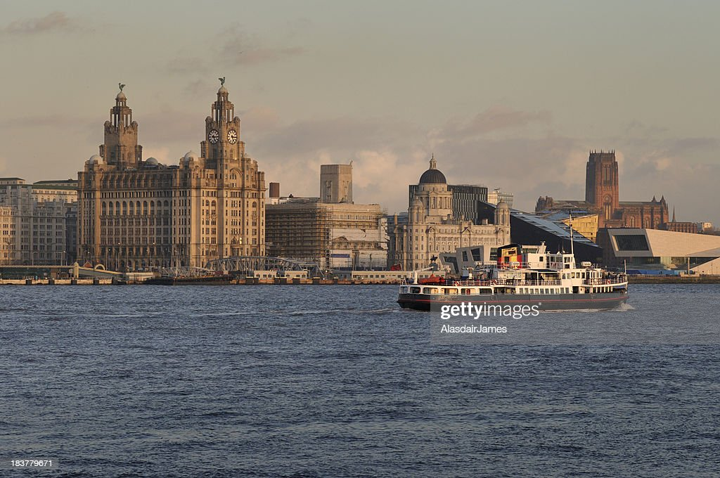 The Mersey Ferry : Stock Photo