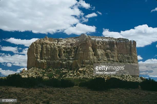 The mesa at Acoma Pueblo in New Mexico USA 1991