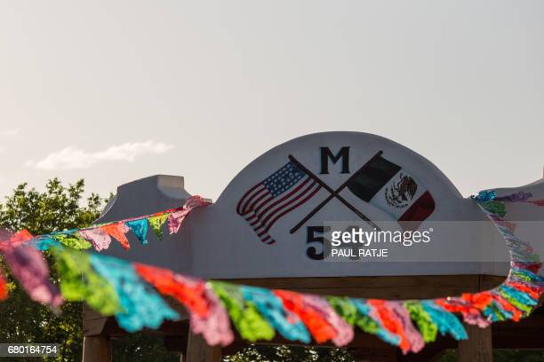 The Mesilla Gazebo is pictured on the plaza in Mesilla New Mexico during the Cinco De Mayo Fiesta on May 07 2017 Mesilla is the location of the...