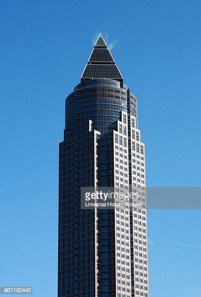 The MesseTurm a 63storey 257 m 843 ft skyscraper in the WestendSud district of Frankfurt Germany It is the second tallest building in Frankfurt It...