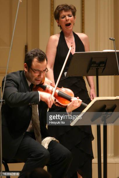The Met Chamber Ensemble performing at Weill Recital Hall on Sunday afternoon, December 17, 2006.This image;The soprano Susan Narucki and the...